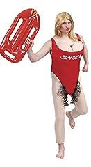 Idea Regalo - Guirca–Costume adulto Vigilante spiaggia, taglia 56–58, 88157.0)