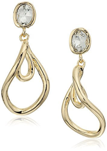 t-tahari-gold-and-crystal-twist-drop-earrings