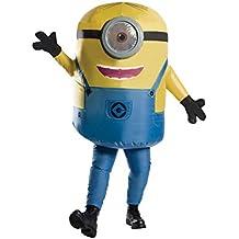 Gru 3: Mi villano Favorito - Disfraz Hinchable Stuart Minion para adultos (Rubie's Spain 810585)