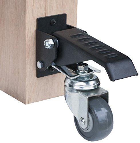 POWERTEC 17000Werkbank Caster Kit (4Stück)