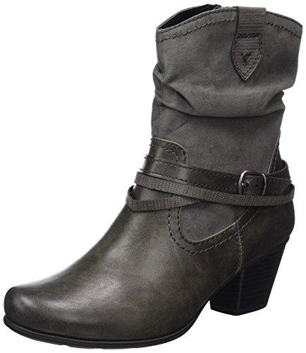 Softline Damen 25362 Stiefel, Grau (Graphite), 40 EU
