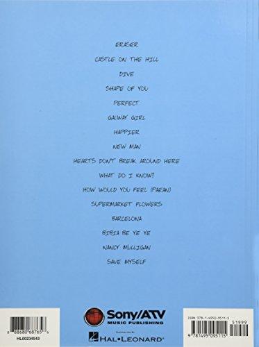 Ed Sheeran: ÷ (Divide) (Guitar Tab Book): Songbook, Tabulatur für Gitarre (Guitar Recorded Versions) - 2