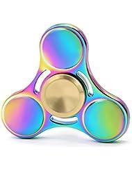 Fidget Spinner, Tri-Spinner Fidget Jouet - Hand Spinner (Toupie à la main), soulagement du stress, Pour la Polycinèse (ADHD, ADD) l'Autisme et pour le loisir
