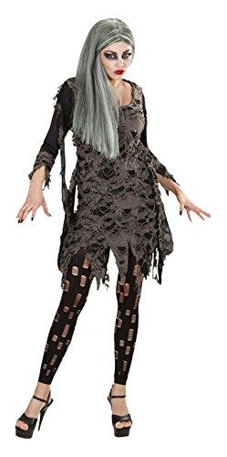 Untoten-Kostüm für Damen Halloween (Zombie Leggings Zerrissene)