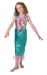 Princesas Disney - Disfraz de Sirenita Ariel para niña, infantil 5-7 años (Rubie