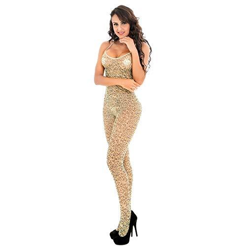 Luuruu Strümpfe Frau Gute Qualität Sexy Bodystockings Sling Leopard Versuchung Stück Strümpfe -