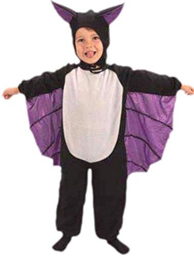 teiliges Fledermaus Kostüm Karneval Fasching, 2-3 Jahre, Schwarz (Kleiner Junge Vampir Kostüm)