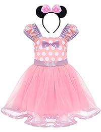 5254a4805 Amazon.co.uk  Pink - Dresses   Baby Girls 0-24m  Clothing