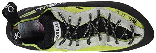 Scarpe donna arrampicata BOREAL - Grigio/Verde