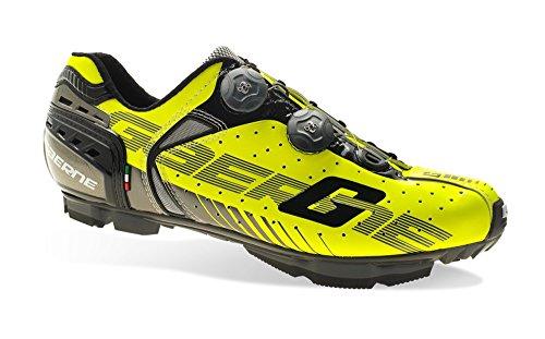 Gaerne–Zapatos de ciclismo–3476–009g-kobra C Yellow, Amarillo (amarillo), 46