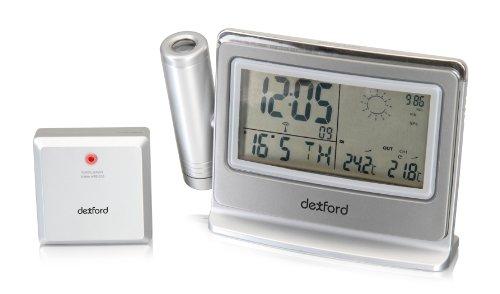 Dexford PCWS4600 Projektionsuhr mit Wettervorhersage