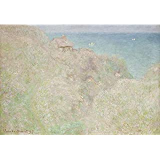Berkin Arts Claude Monet Giclee Canvas Print Paintings Poster Reproduction(Le Petit Ailly Varengeville In The Sun) #XFB