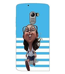 PrintDhaba Funny image D-4775 Back Case Cover for LENOVO VIBE X3 LITE (Multi-Coloured)