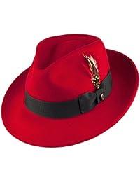 d961fb3b Amazon.co.uk: Hats and Caps - Fedoras & Trilby Hats / Hats & Caps ...