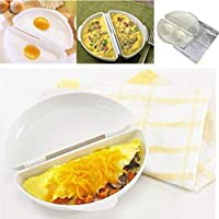 BSGP Microwave Egg Omelette Maker Progressive Microwaveable Omelet Maker Eggs