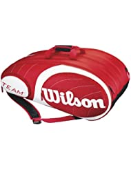 Wilson Team 12Pk - Raquetero , color rojo / blanco, talla NS
