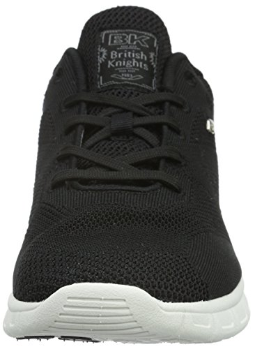 British Knights Demon Herren Sneakers Schwarz (Blk (wht outsole) 02)