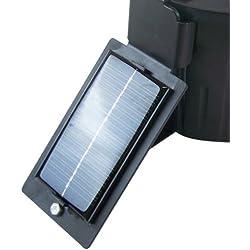 Berger + SchrãTer berger + panel solar Schröter para wildfutter automático digital, negro, 31.256,
