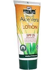Aloe Pura | Aloe Vera Sun Lotion SPF 25 | 3 x 200ml