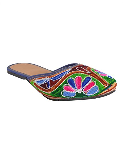 DFR Ethnic Jute Mojari for Women  available at amazon for Rs.248