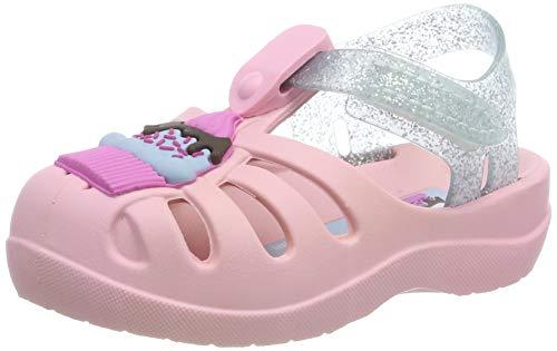 Ipanema Mädchen Summer V Baby Sandalen, Mehrfarbig (Pink/Silver 9193), 21 EU