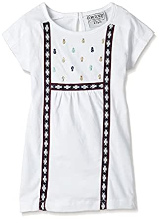 Cherokee by Unlimited Girls' Shirt (269778552 WHITE 02Y HS)