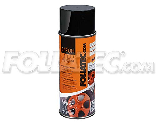 Foliatec 2034 Spray Schutzfilm Felge, Kupfer Metallic Matt