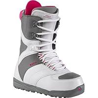 Burton Coco - Botas de snowboard para mujeres, color multicolor (blanco - gris)
