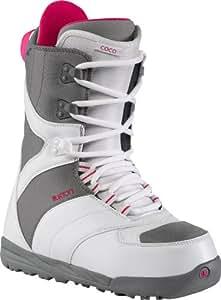 Burton Coco 10644100 Damen Snowboardboots, white/gray, Gr.35 (US 5) (UK 3)