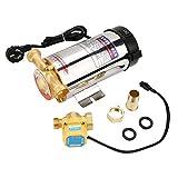 220V 150W automatico impulso pompa acqua a pressione in acciaio INOX della doccia per rubinetto acqua Pipeline domestici lavatrice (CN Plug)