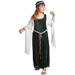 Disfraz de medieval para niña (7-9 años)