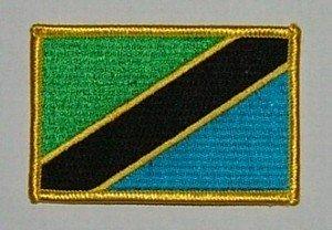 Aufnäher Tansania - Tansania Patch