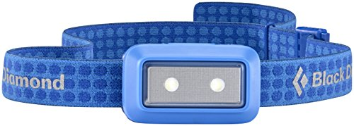 Black Diamond Wiz Headlamp Electric Blue/Ultrakompakte, kindersichere Stirnlampe dimmbar mit Blinkmodus/Batteriebetrieben, max. 30 Lumen