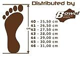 Herren Hausschuhe Leder Pantoffeln Schwarz Modell MZ02 (45) - 6