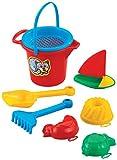 Sandset Segelboot Strandset Strandspielzeug Sandspielzeug Spielzeug Kinder Kinderspielzeug Schaufel Sandkasten Strand Sand Eimer Harke Schaufel Förmchen Sandkasten