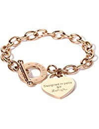7ae01be0c14e Amazon.es  pulseras con corazon  Joyería