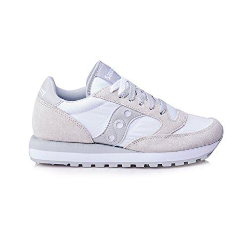 SAUCONY scarpe sneaker uomo JAZZ ORIGINAL S2044-396 bianco grigio 41