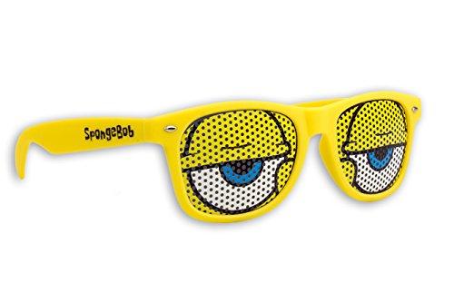 Blueprint Cologne Spongebob Schwammkopf Sonnenbrille GELB Fanbrille UV 400 Verschiedene Modelle und Größen ()