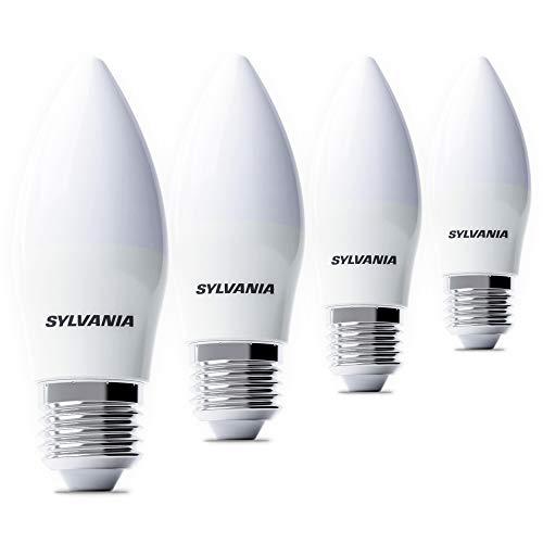 Gebraucht, Sylvania 4x LED Kerzenbirnen E27 - LED Kerzenlampe gebraucht kaufen  Wird an jeden Ort in Deutschland