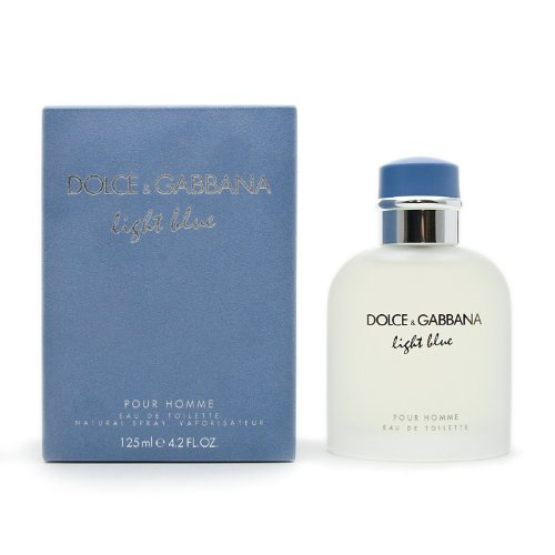 Dolce&Gabbana Light Blue Eau de Toilette, Uomo, 125 ml