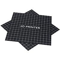 Prokth® - Accesorios para impresoras 3D, 235 x 235 mm, placa magnética en forma de A + B-Side, impresión 3D, cinta adhesiva para cama caliente, crealidad, impresora 3D, Ender-3, color - D