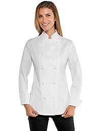 Isacco - Veste blanche de cuisine Lady Chef Stretch
