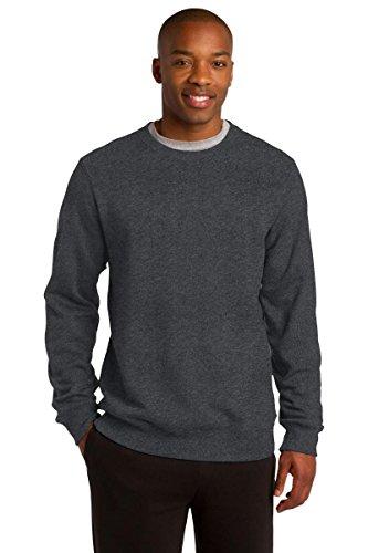sport-tek Crewneck Sweatshirt st266 Gr. xxl, Grau - Graphite Hthr