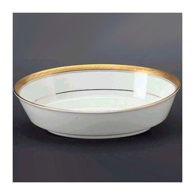 Noritake Crestwood Gold Oval Vegetable Bowl by Noritake Noritake Oval Vegetable Bowl