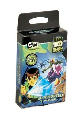 Image of Ben 10 Assorted Plasters 20 Packet