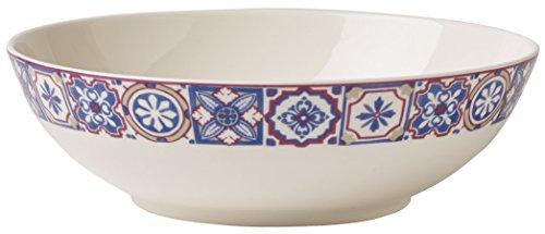 Villeroy & Boch Caro große Schale, Geschirr aus hochwertigem Premium in modernem Rosé, 1, 2 l Schüssel, Porzellan, Weiß, 22 x 22 x 15 cm