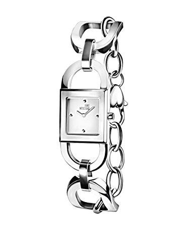 Montre Moschino Quartz - Affichage analogique bracelet Acier Inoxydable et Cadran MW0477