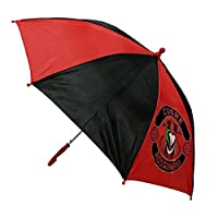 Football Sport XM-107 Automatic Umbrella, Children, Diameter 28 Inches, Polyester (Red)