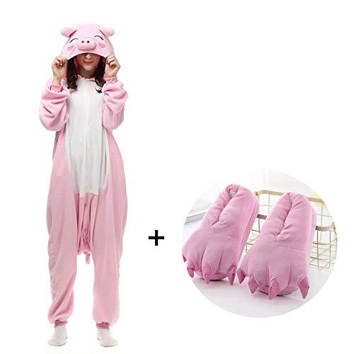 HIUGHJ Disfraz Cosplay Ropa Dormir Invierno Pijamas