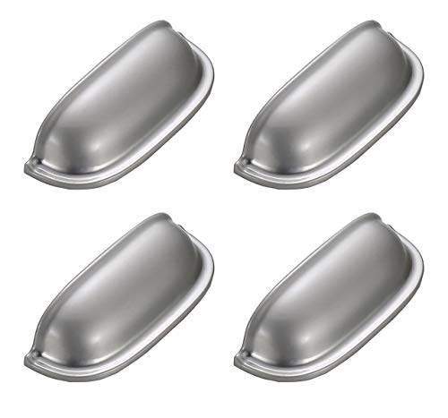 Solide Küche-schränke (PAPIDLY Retro-Stil Moderne unsichtbare Küche Türgriff Schrank Schublade solide Griffe Möbel Decoratio (schwarz und Gold Silber))